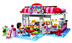lego friends city park cafe build