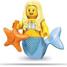 71000 Series 9 Minifigure Mermaid