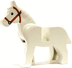 horse white lego animal minifigure figure