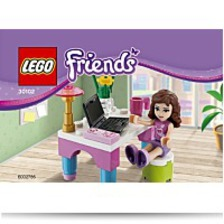 Buy Friends Set 30102 Olivias Desk