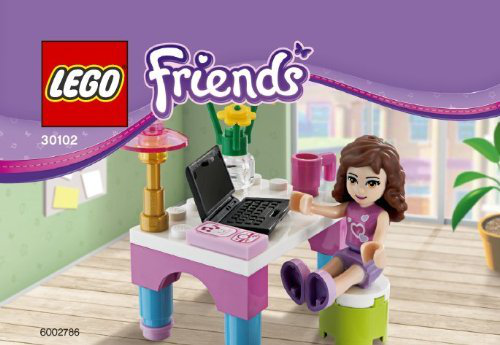 Friends Set 30102 Olivias Desk