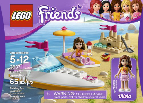 Friends 3937 Olivias Speedboat