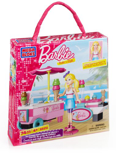 Mega Bloks - Barbie - Build 'n Style Ice Cream Cart
