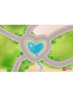 Friends Heartlake City Playmat